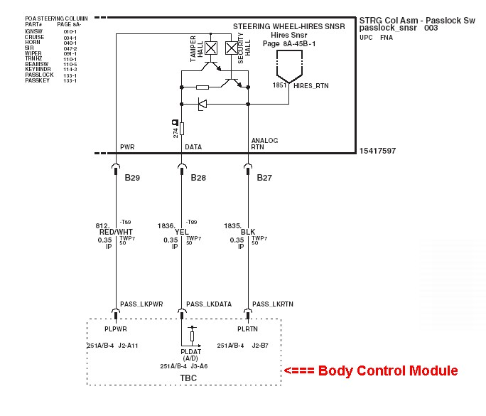TruckPasslockWiring grand am passlock security system repair gm body control module wiring diagram at sewacar.co